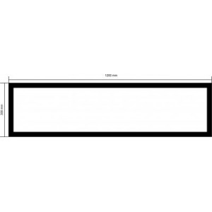 30x120 Slim Led Panel