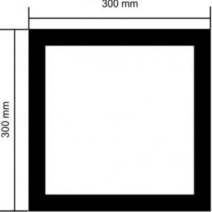 Clip-in Tavan Backlight 30x30 cm