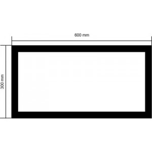 Metal Tavan Backlight 30*60cm