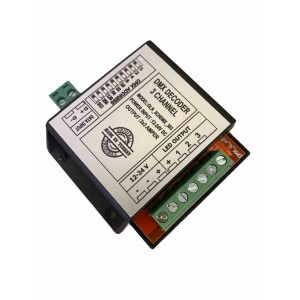 Dmx Decoder 3 Ch DS (3x3A)