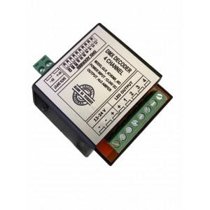 Dmx Decoder 4 Ch DS (4x3A)